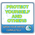 Protect Yourself And Others Sticker