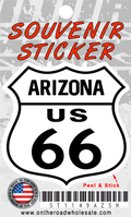 Route 66 Arizona Shield Sticker