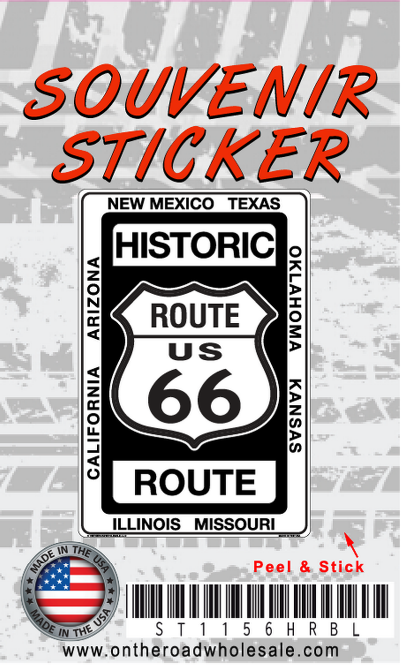 Historic Route 66 Sticker